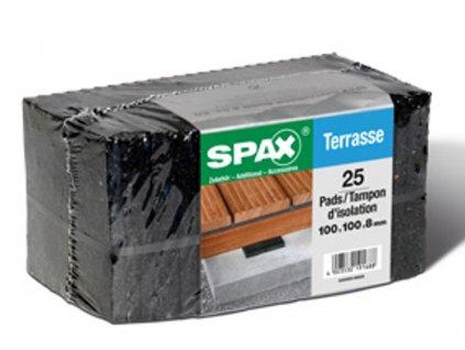 Podložka SPAX Pads 8 mm (100 x 100 mm)