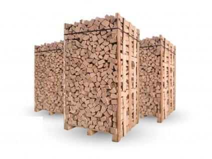 Palivové dřevo - suché (25 cm)